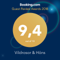 Guest Reviews Award 2018